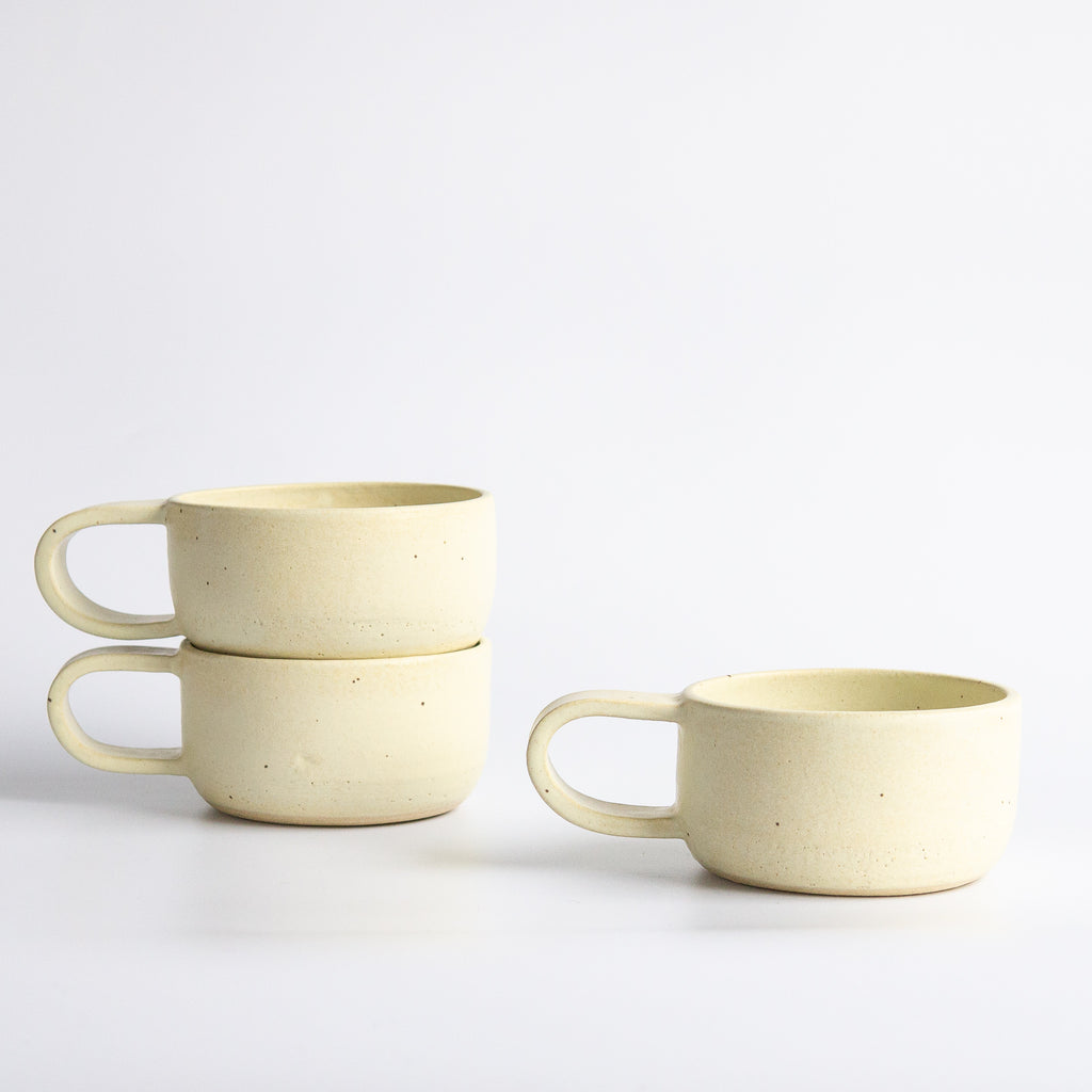 Earth and Her Flower: Pastel Yellow Elise Mug