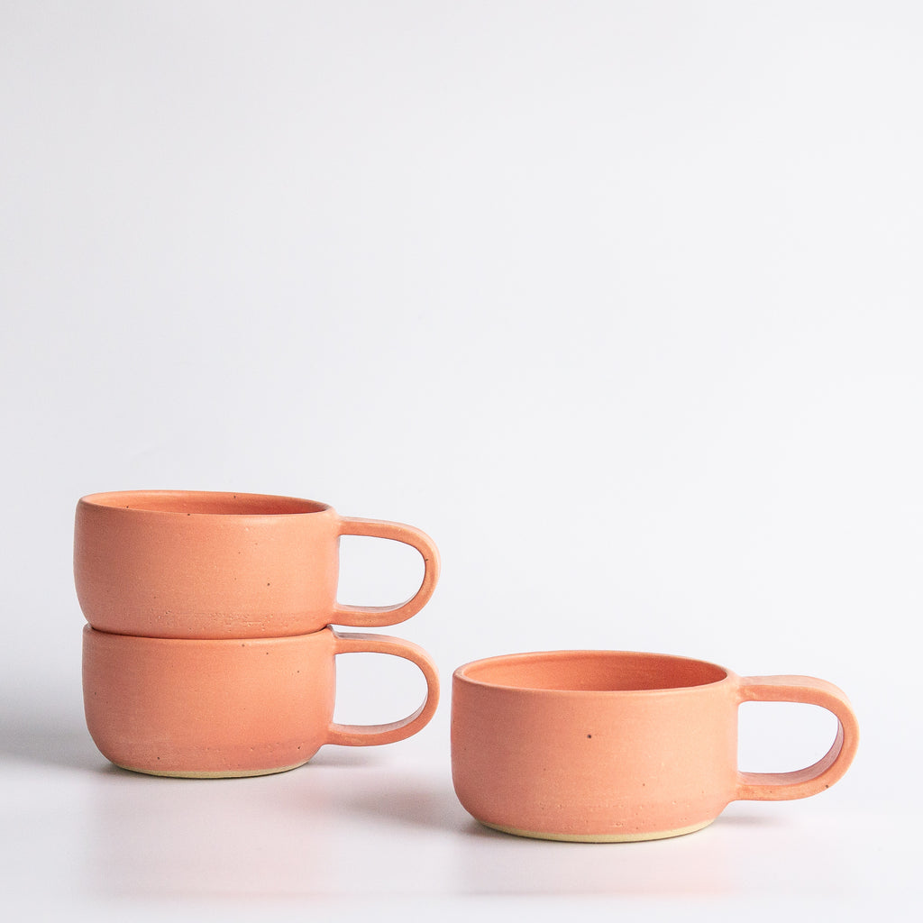Earth and Her Flower: Coral Elise Mug