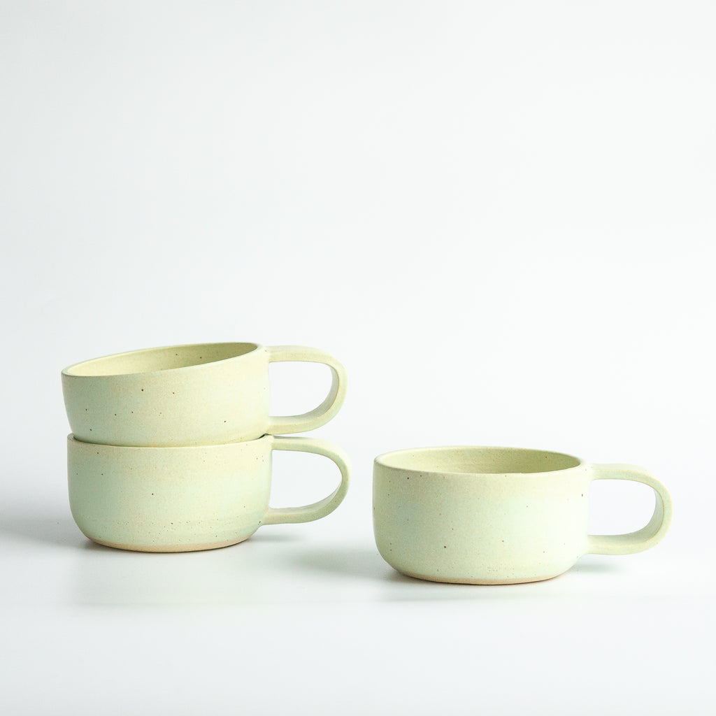 Earth and Her Flower: Pastel Green Elise Mug
