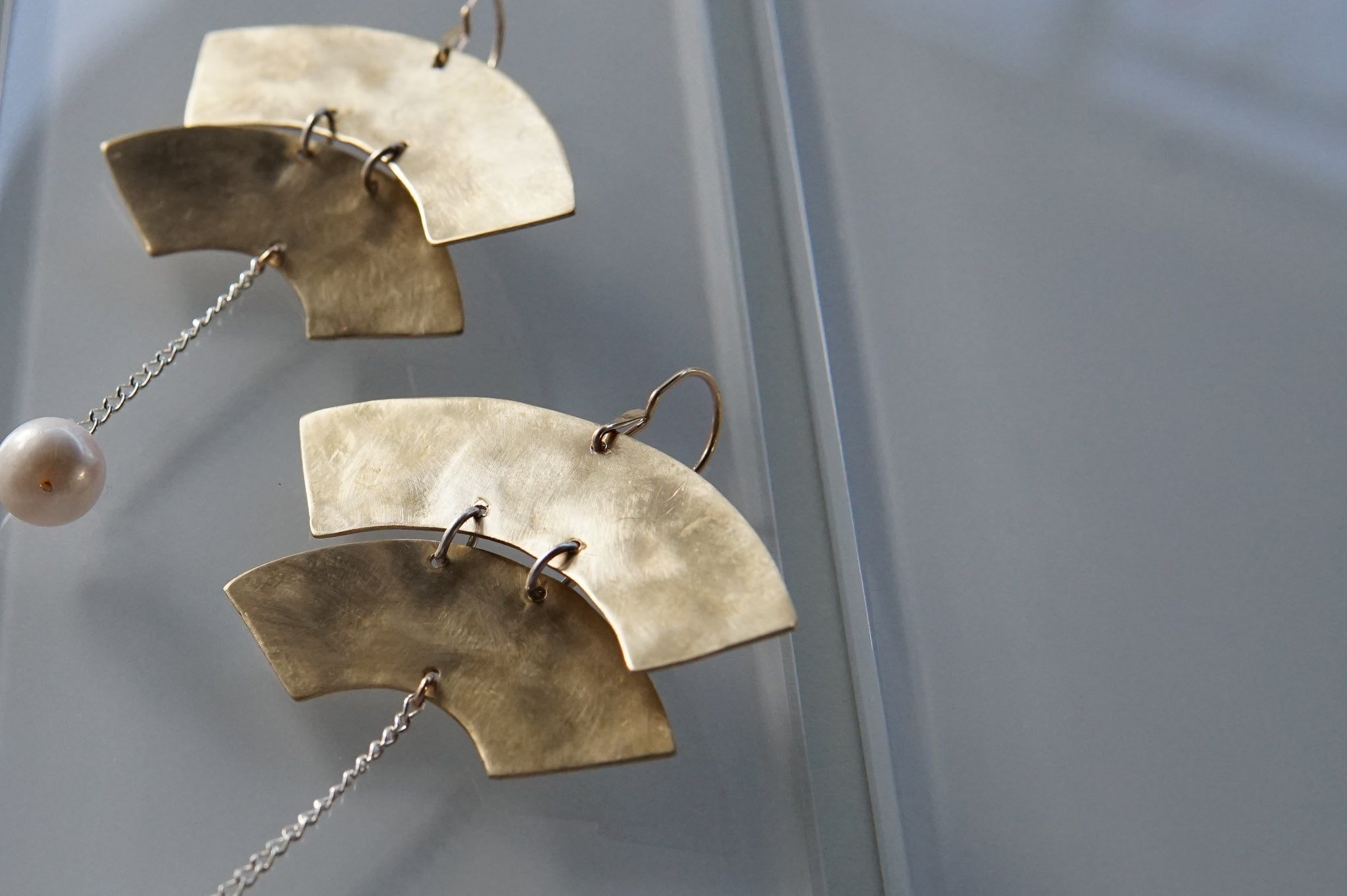 Kari Phillips: Klee Earrings with Double Arc