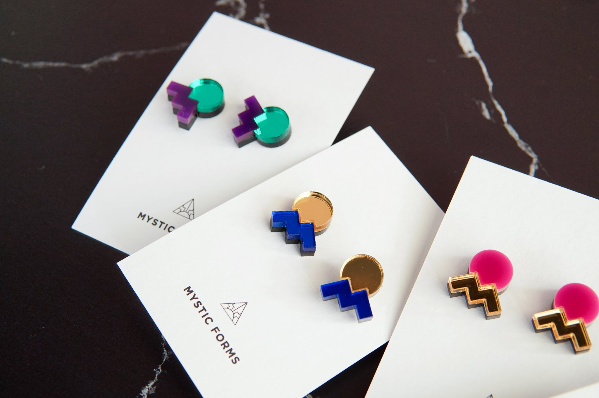 Mystic Forms: Form 013 Studs