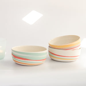 Clay Factor: Taffy Cereal Bowls