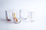 Anna Von Lipa: Crystal Splash Tumbler - Side