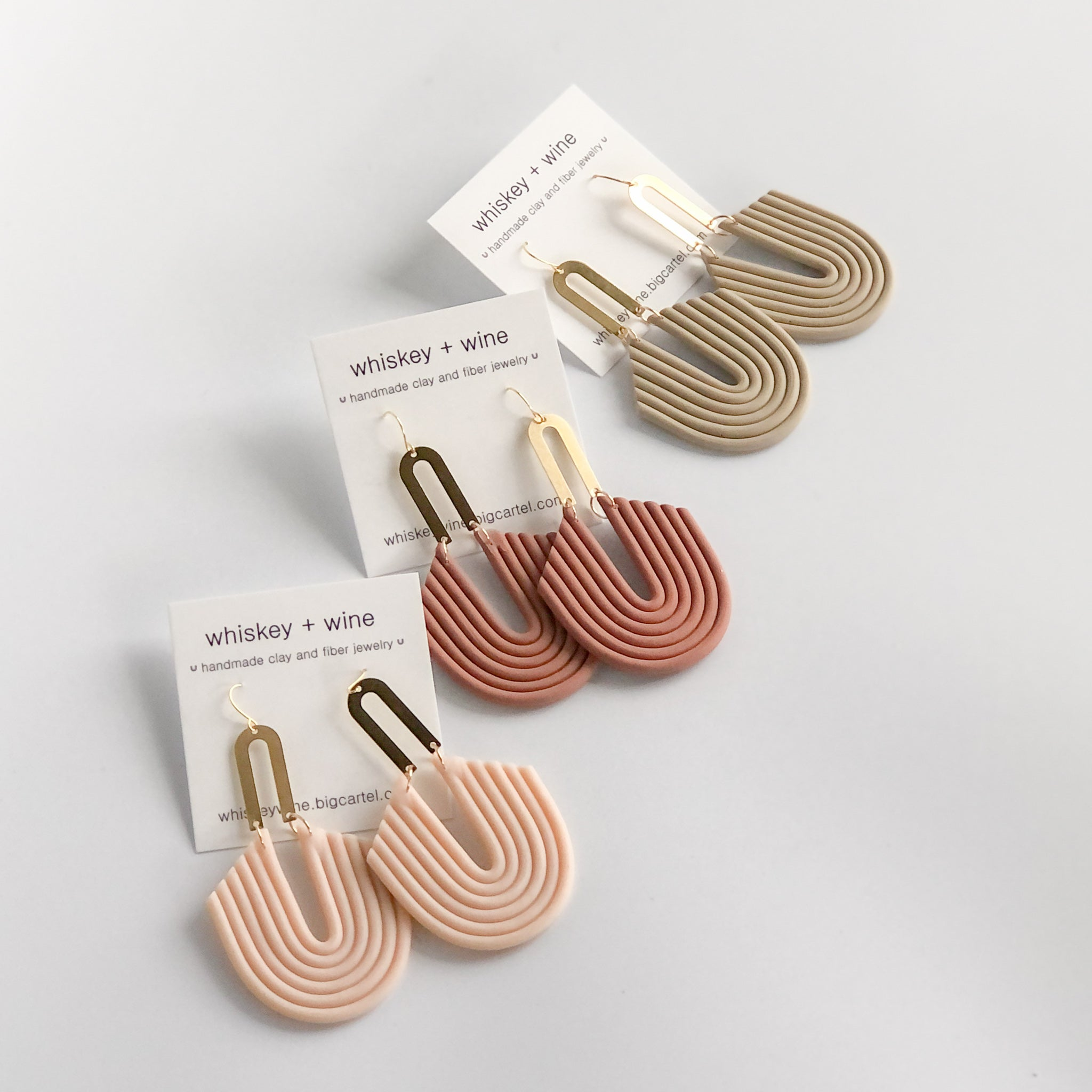 Whiskey + Wine: Margot Earrings