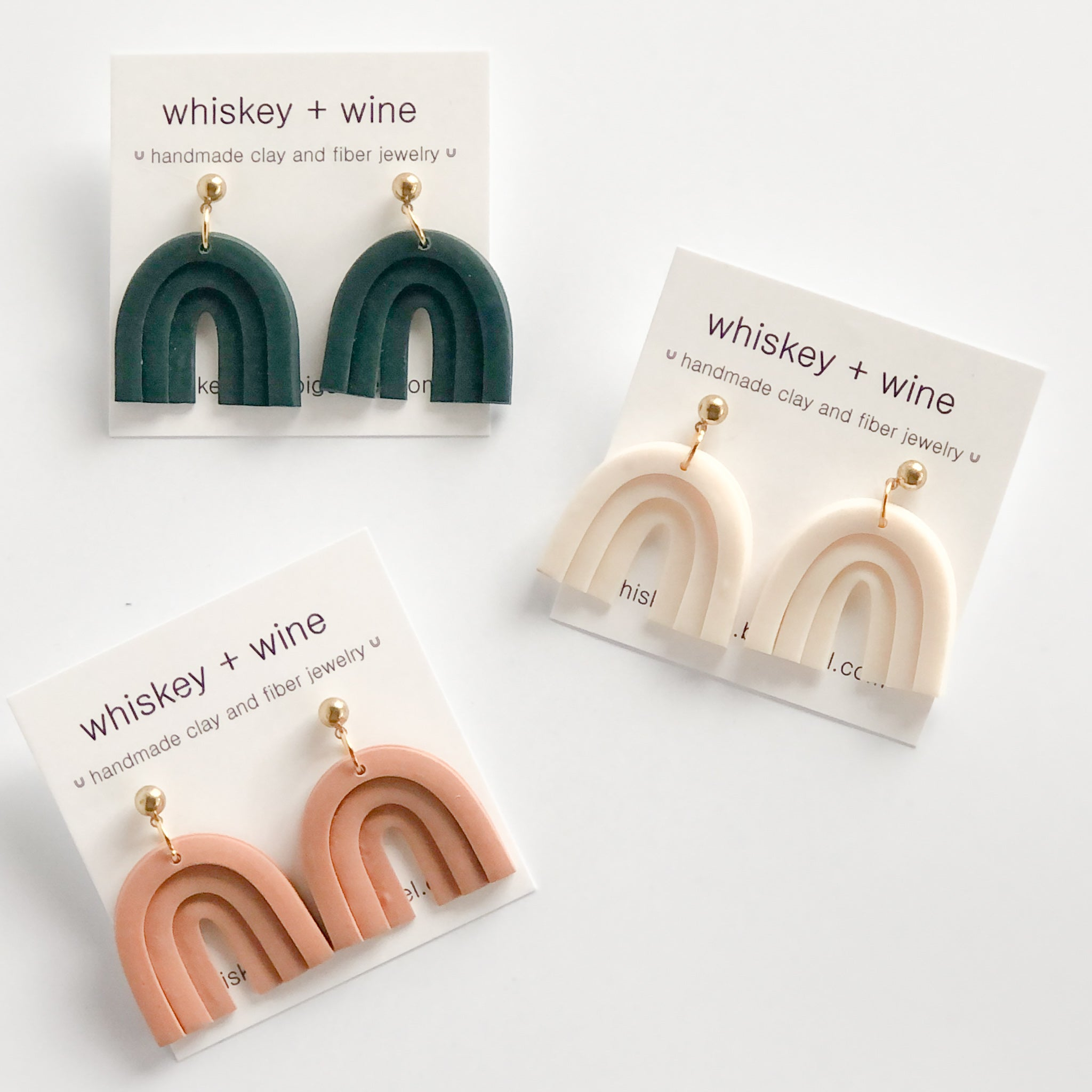 Whiskey + Wine: Fia Earrings