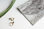 Tiro Tiro Brass and Stone Sera Ring