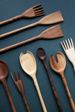 Two Tree Studio Hand Carved Wooden Utensils