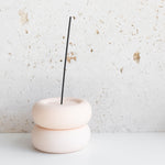 Peaches Porcelain Ceramic Incense Holder