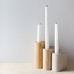 Bosque Design minimal wooden candle holder
