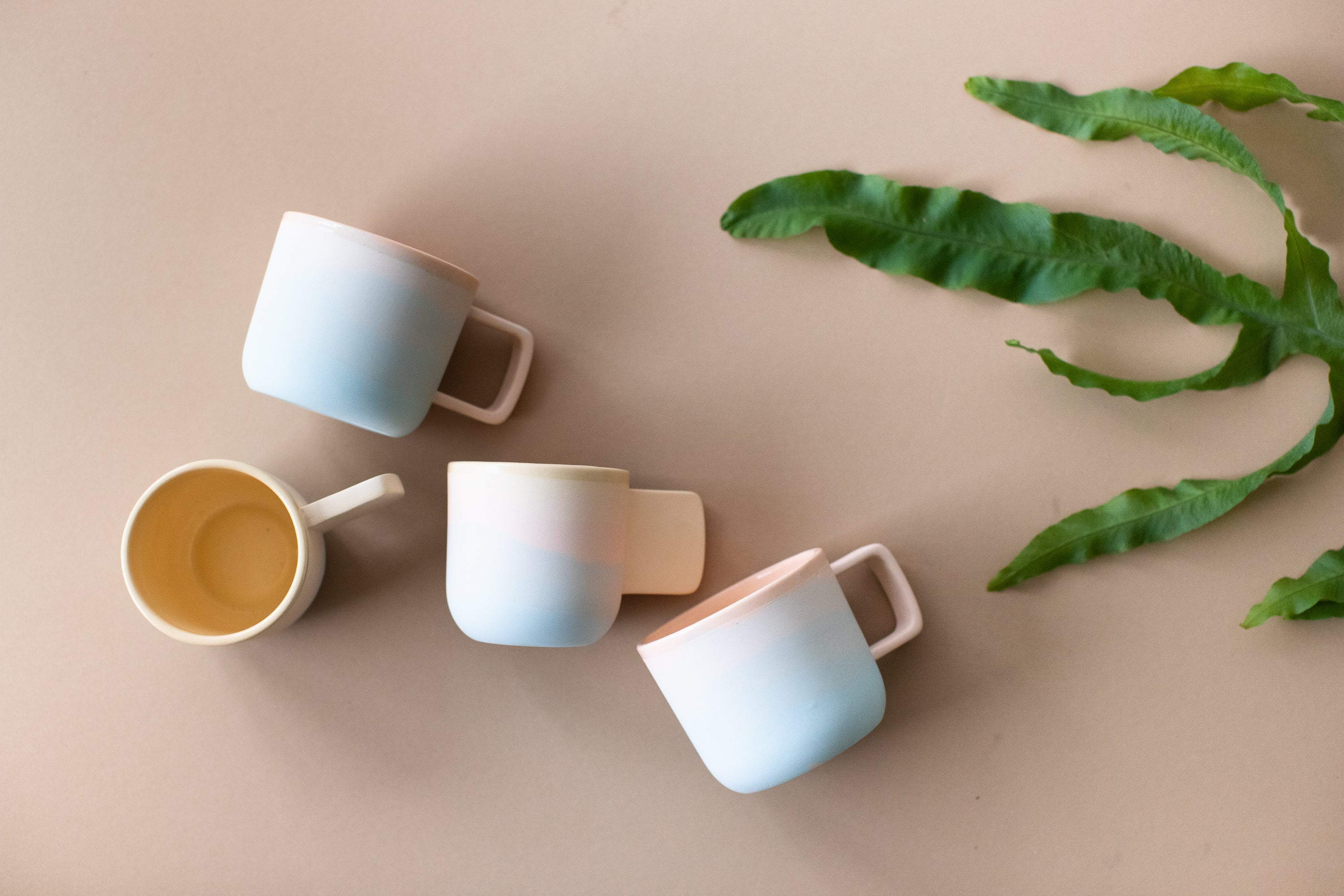 Peaches: Small Sunset Mug