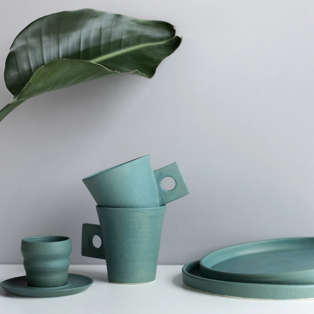 Green Dinnerware by Ashley Hardy