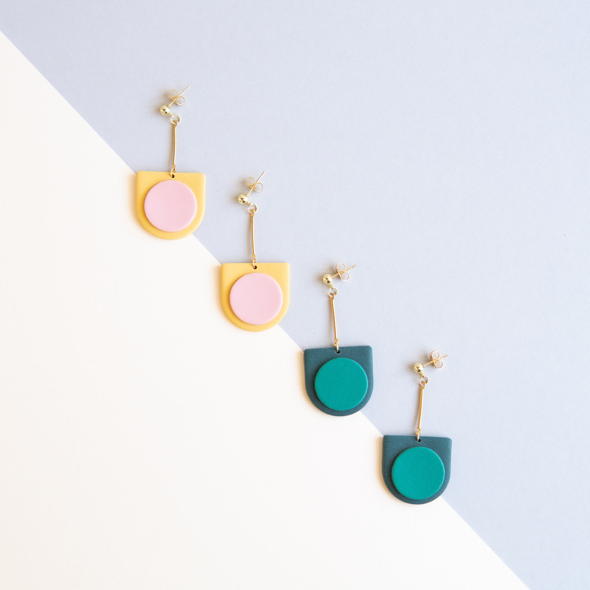 Alcove Craft: Pendulum Earrings