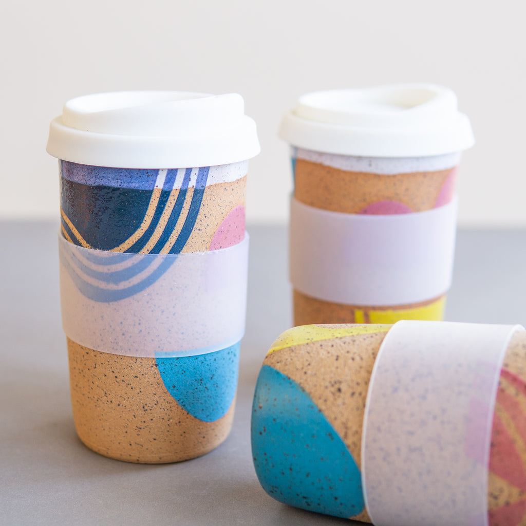 Christi Ahee: Pop Doodle Travel Cup