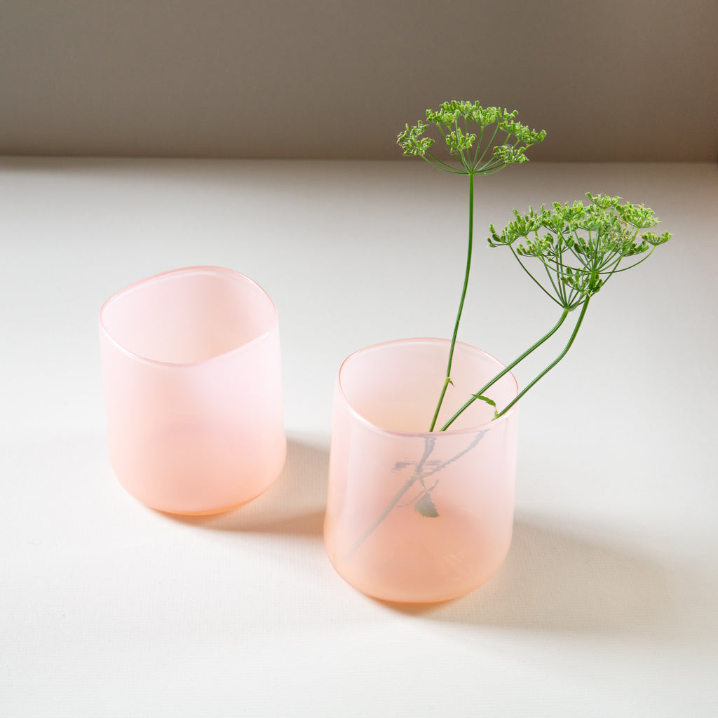 Gary Bodker: Organic Glasses in Pink