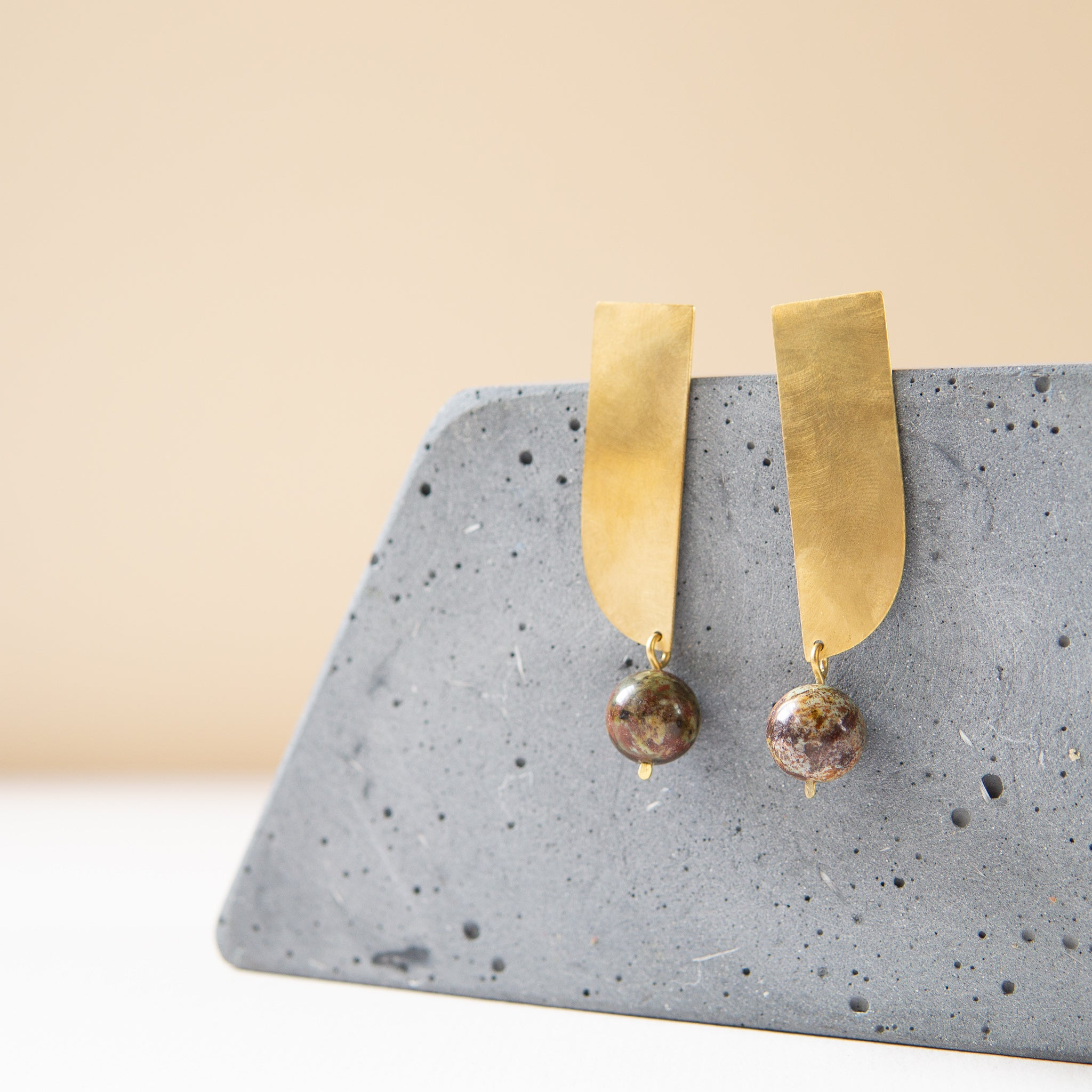 Kari Phillips: Arco Drop Earrings
