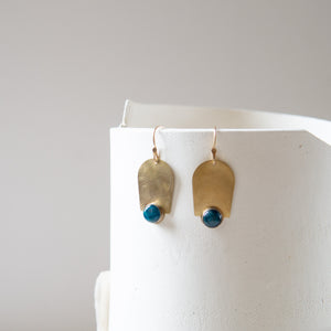 Kari Phillips: Blue Apatite Earrings