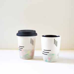 KFM Ceramics: Bathing Suit Weather Cup