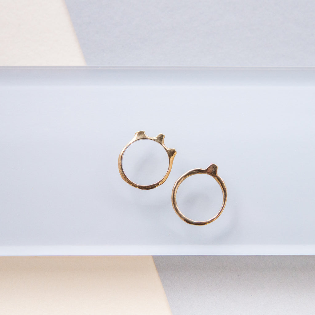 Uni: Brass Shape Rings