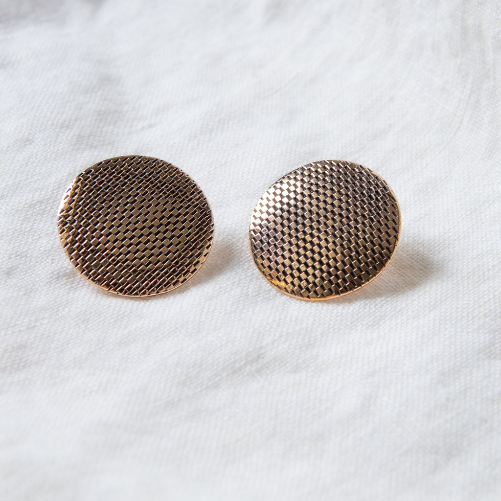 Oru: Bronze Celeste Earrings
