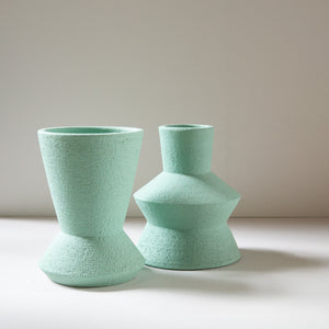 Mari Masot: Tall Mint 2-Part Plant Pot