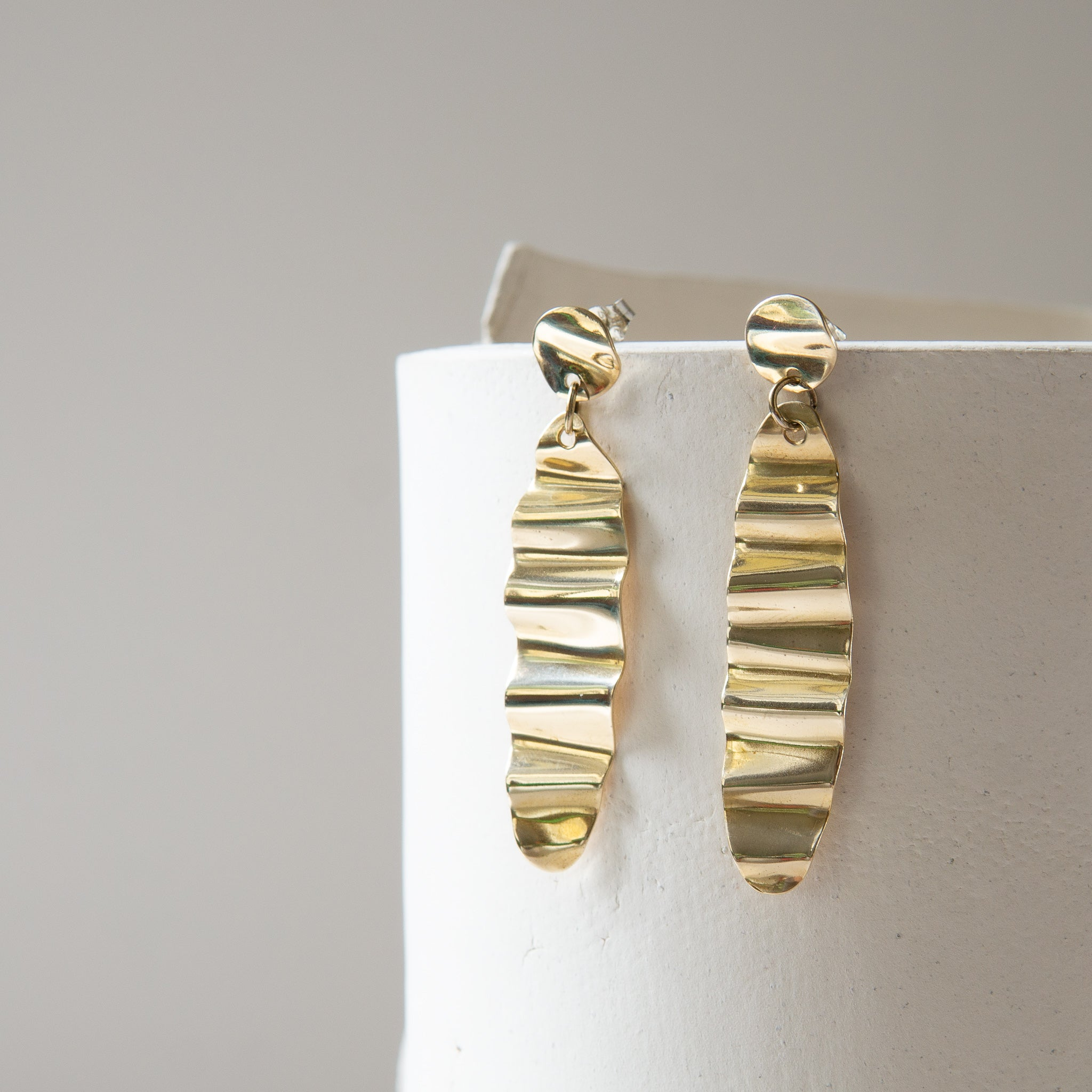 Material Wit: Groove Earrings