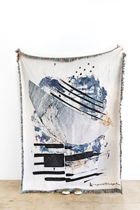"K-Apostrophe: ""Marea"" Woven Throw"