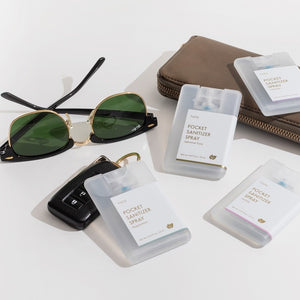 Pocket Sanitizer 4 Pack: Yuzu Soap
