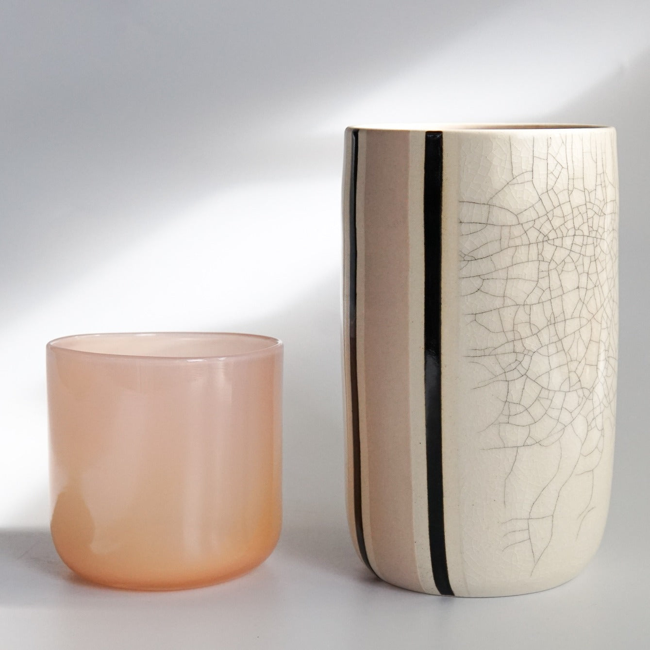 KFM Ceramics: Crackle Vase