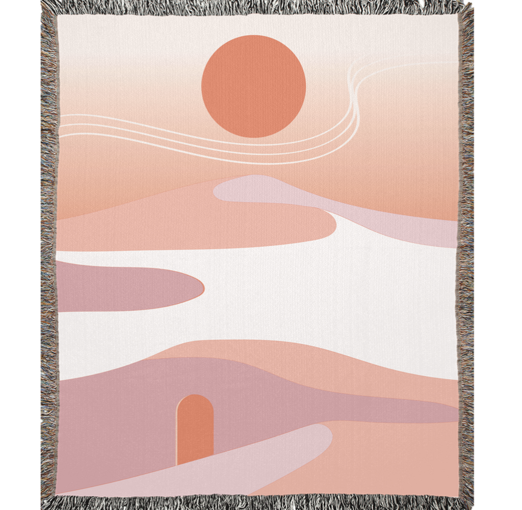 Buhlaixe Studio: Burnt Sun Blanket