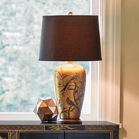 BY LAMP LIGHT: Gump's illuminates fine Asian design