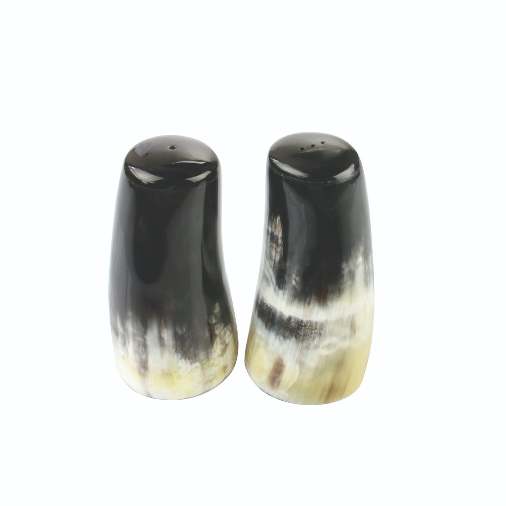 Horn Salt & Pepper Shakers, Large