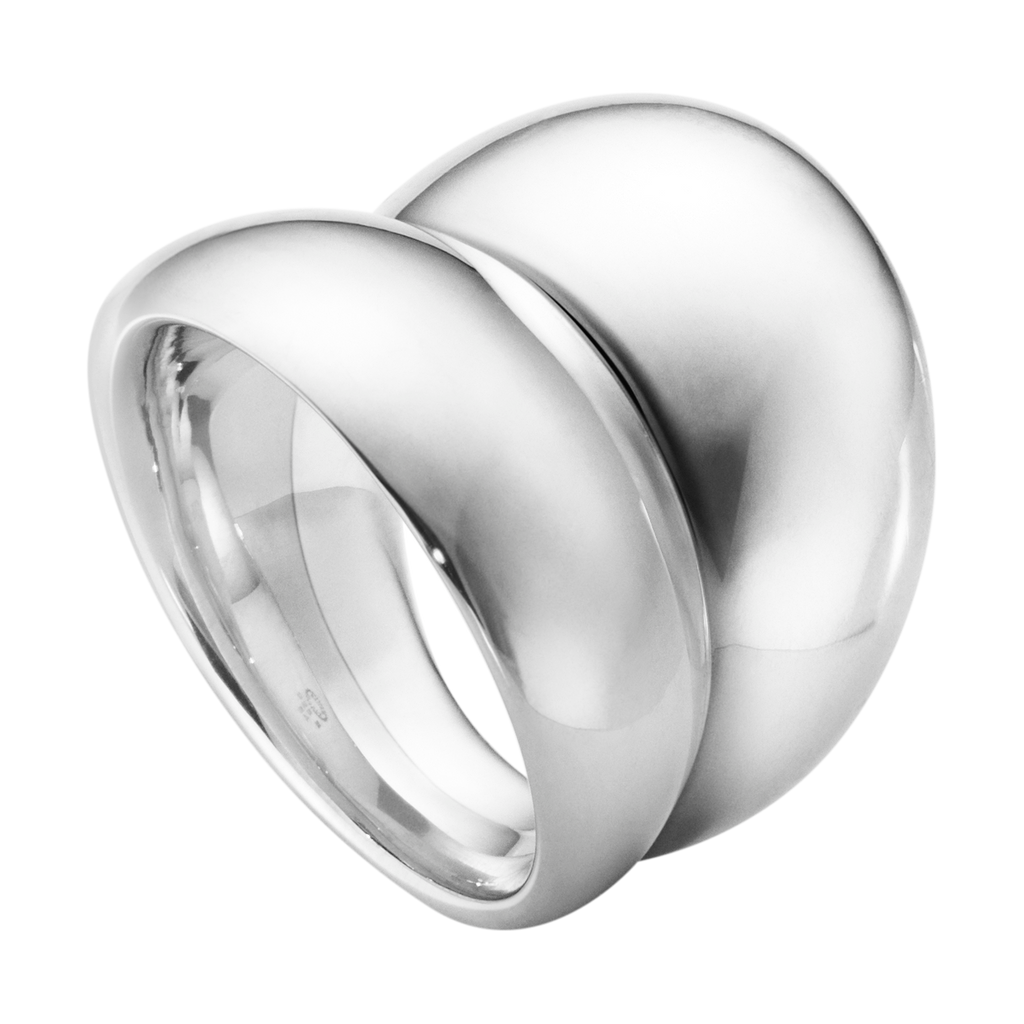 Silver Curve Ring