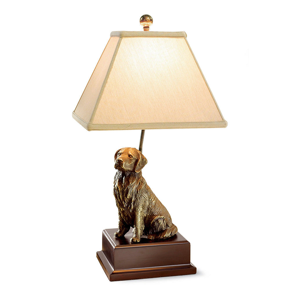 GOLDEN RETRIEVER    LAMP