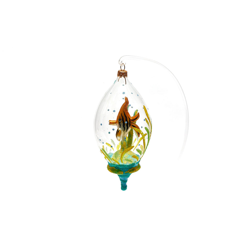 Fish in Dome Ornament