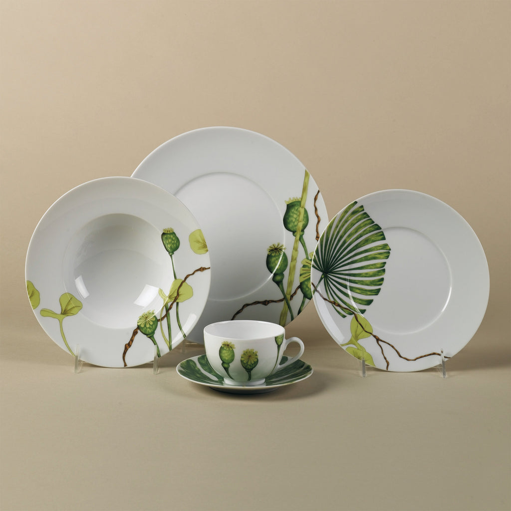 Medard De Noblat Ikebana Dinner Plates Set of 4