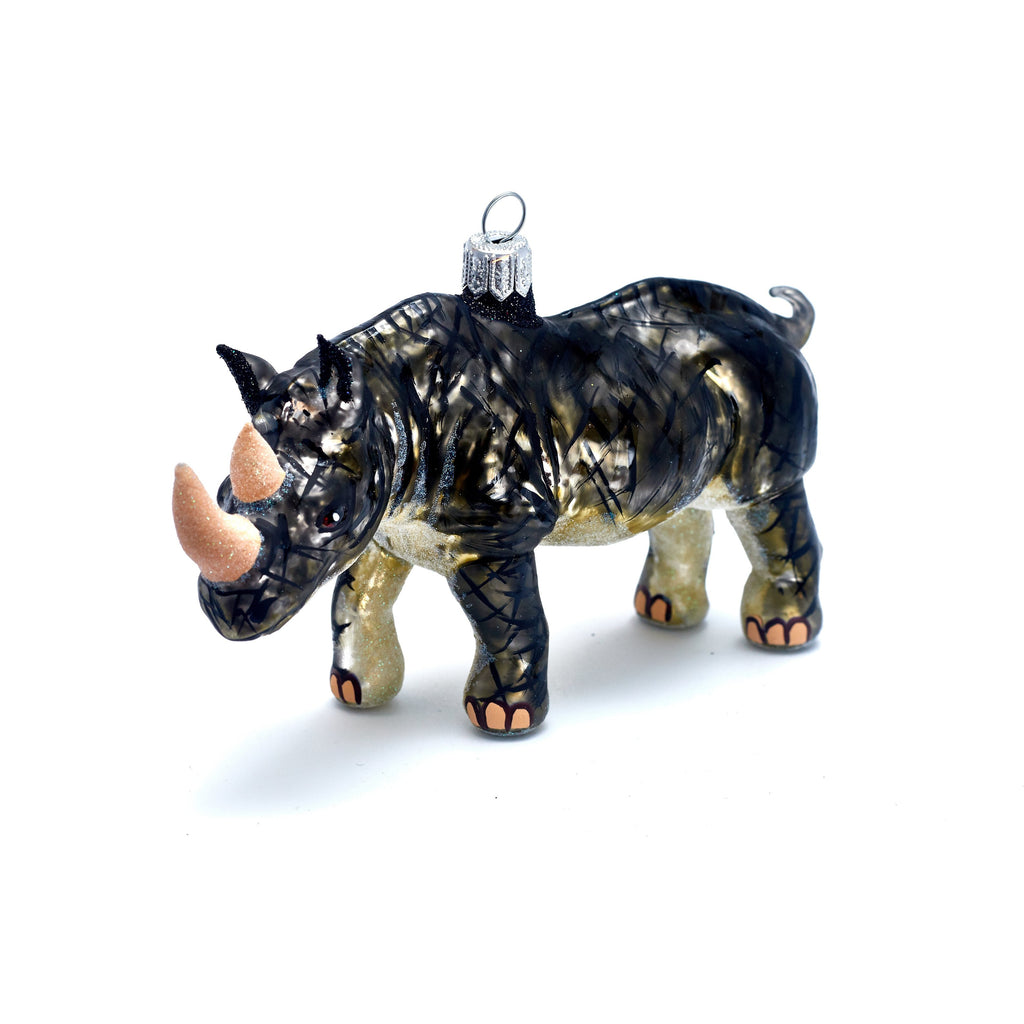 Rhino Ornament