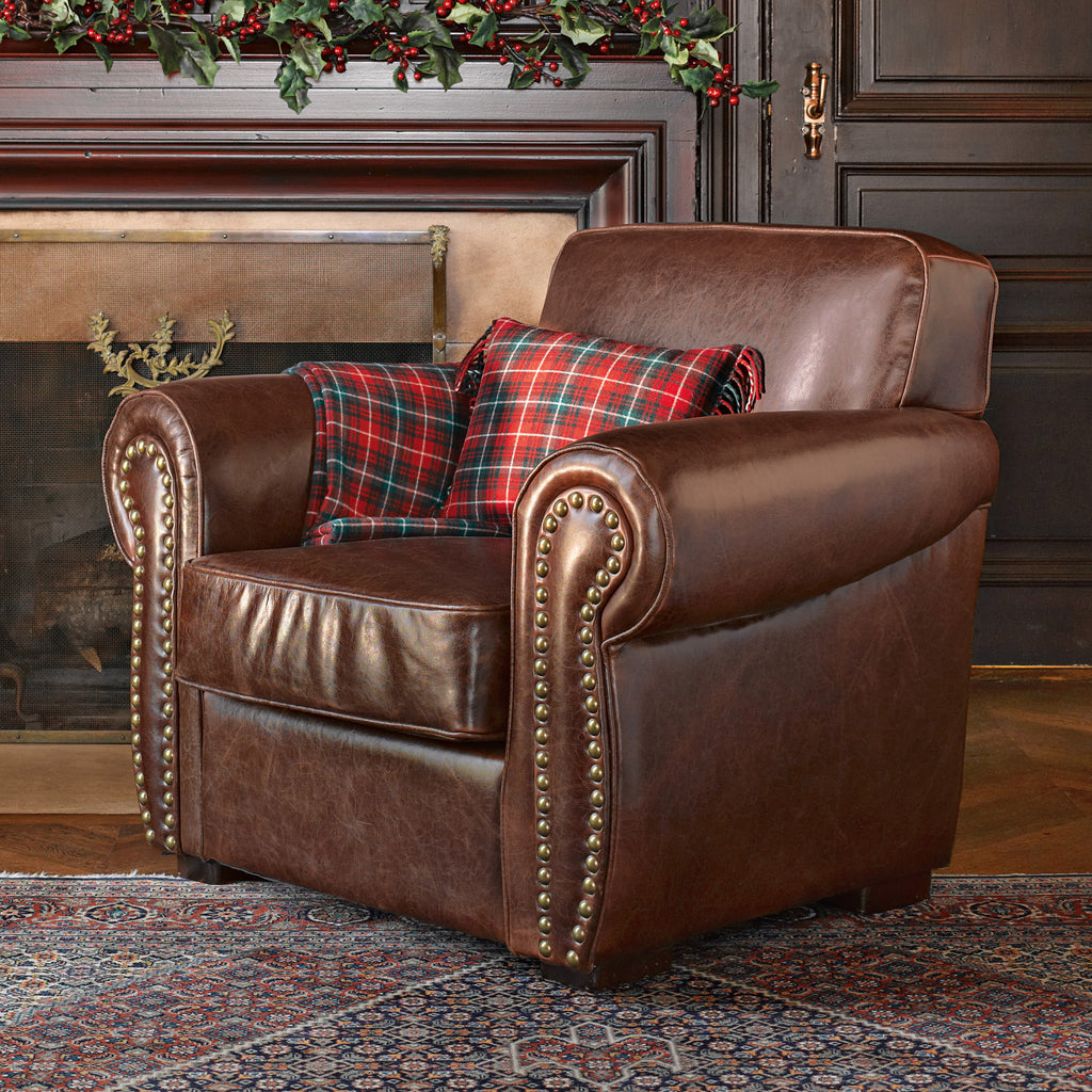 Tennyson Leather Chair