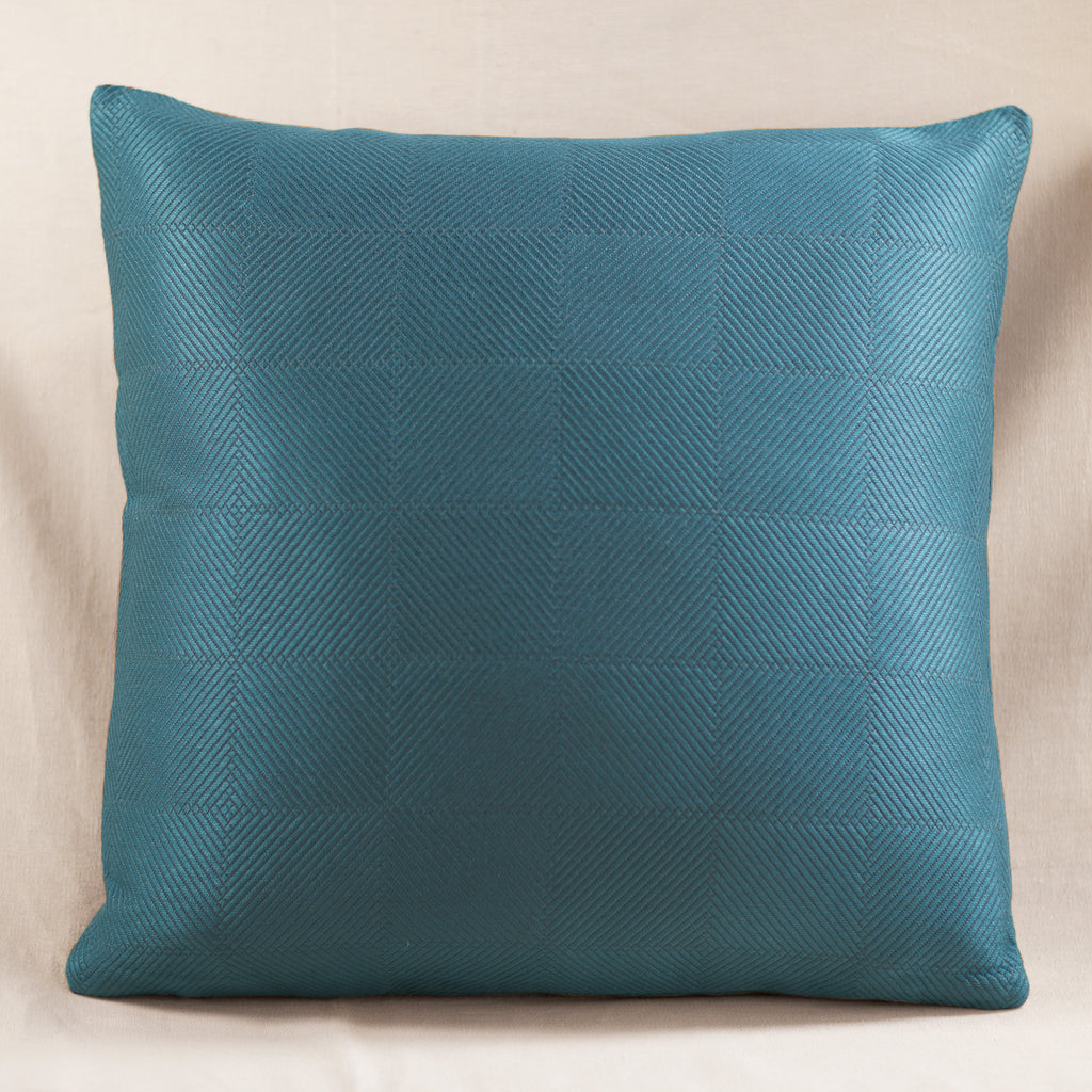 Chevron Pillow Blue