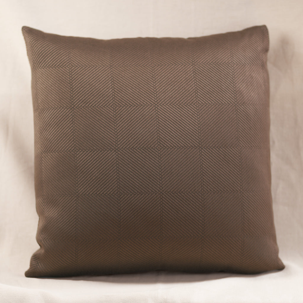Chevron Pillow Brown