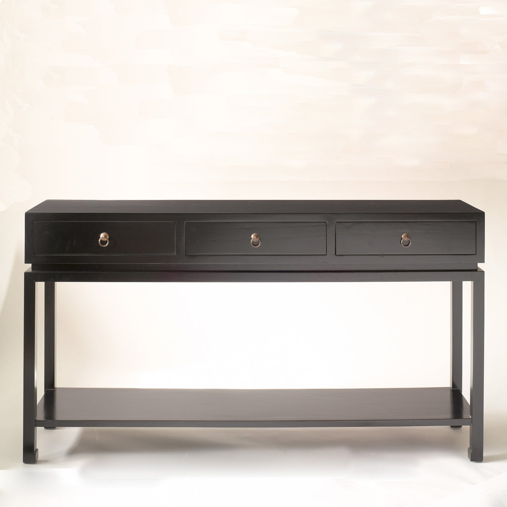 Livingston Console Table Black