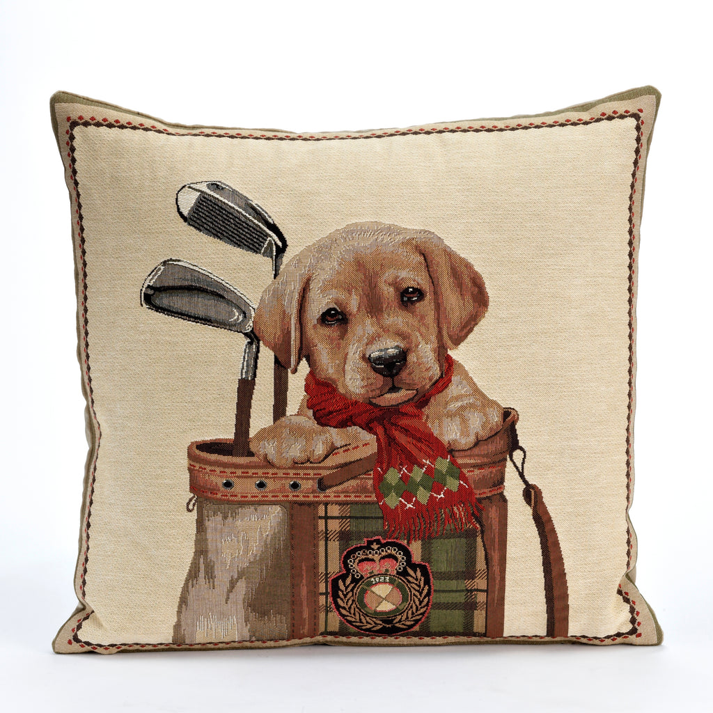 Golf Pup Pillow