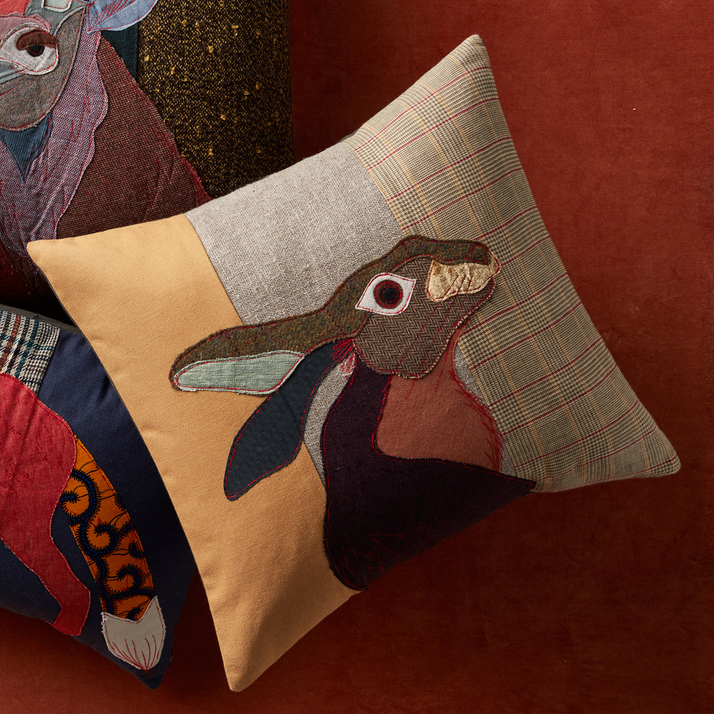 Woodland Hare Pillow