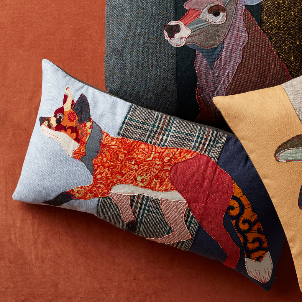 Carola Van Dyke Woodland Fox Pillows