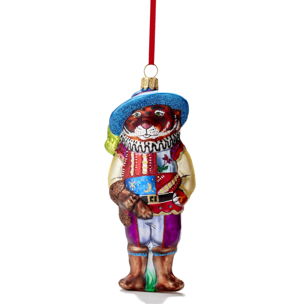 Tiger the Musketeer Ornament