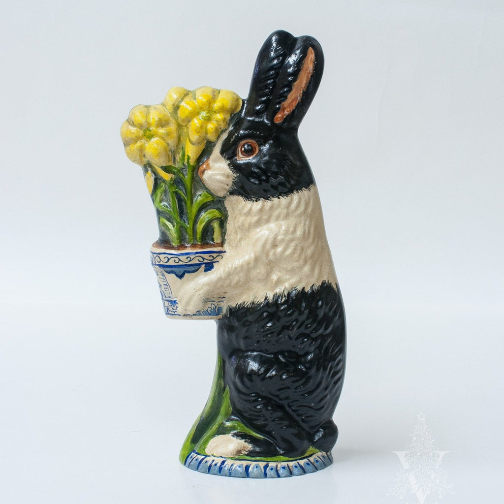 Rabbit with Delft Flower Pot