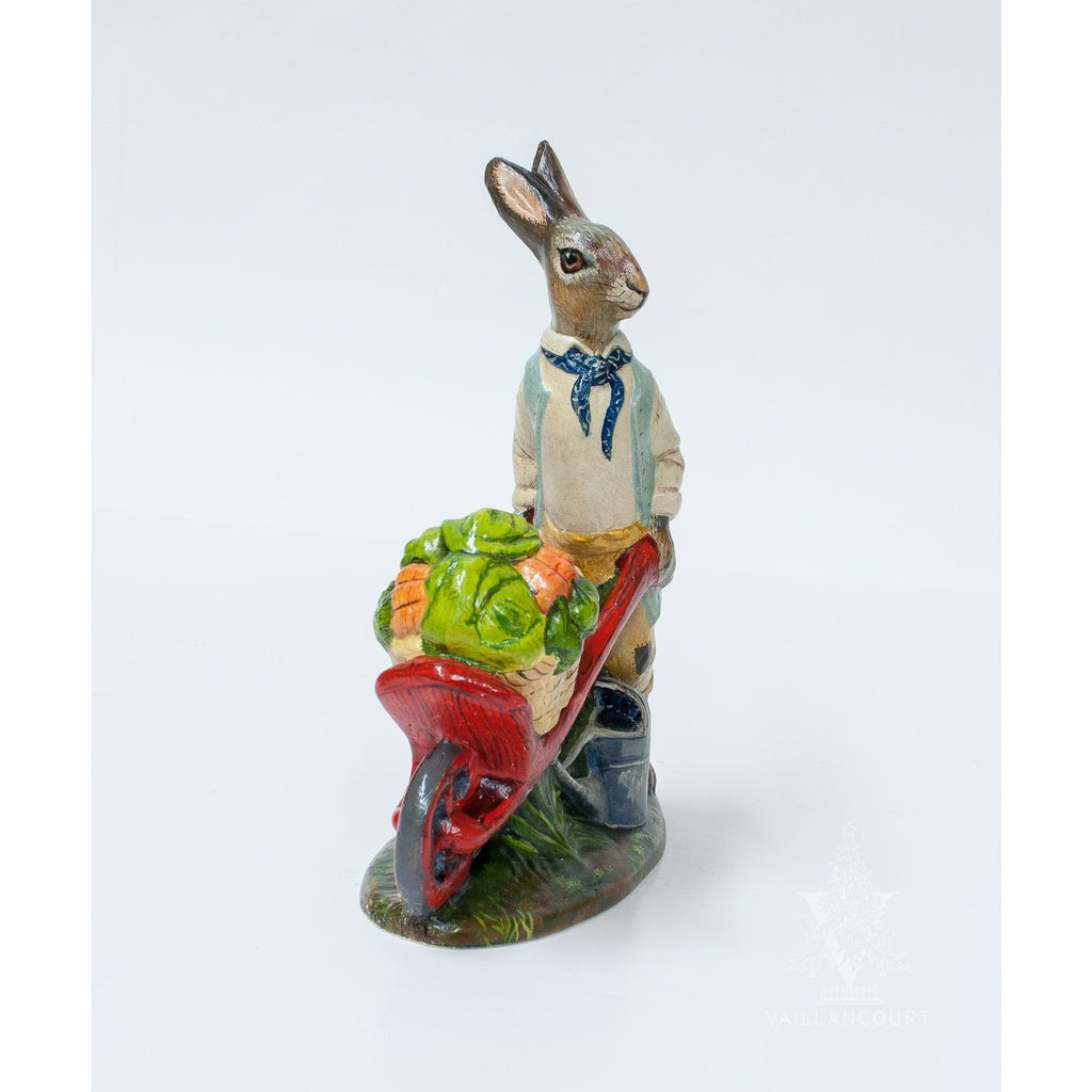 Dressed Gardening Rabbit
