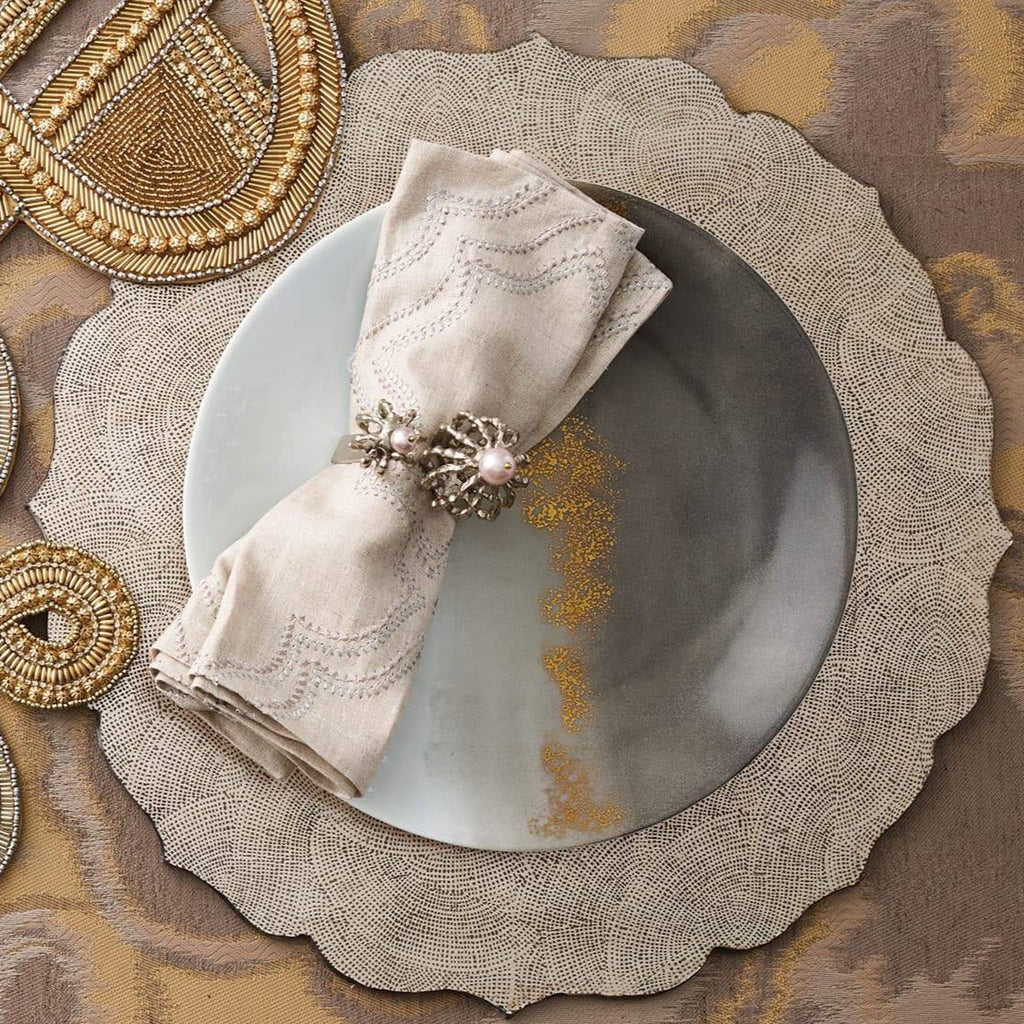 Silver Tangier Placemat