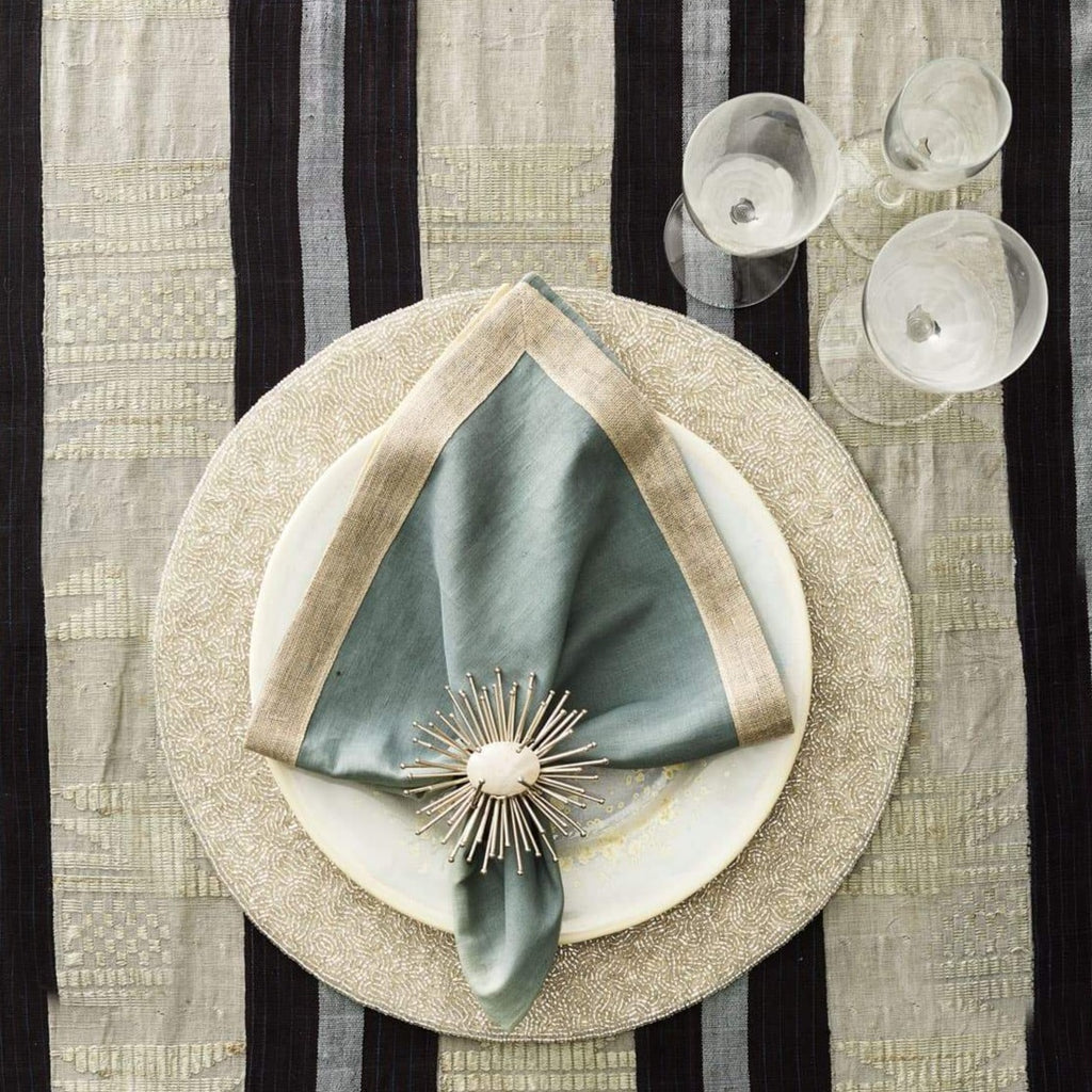 Silver Vermicelli Placemat