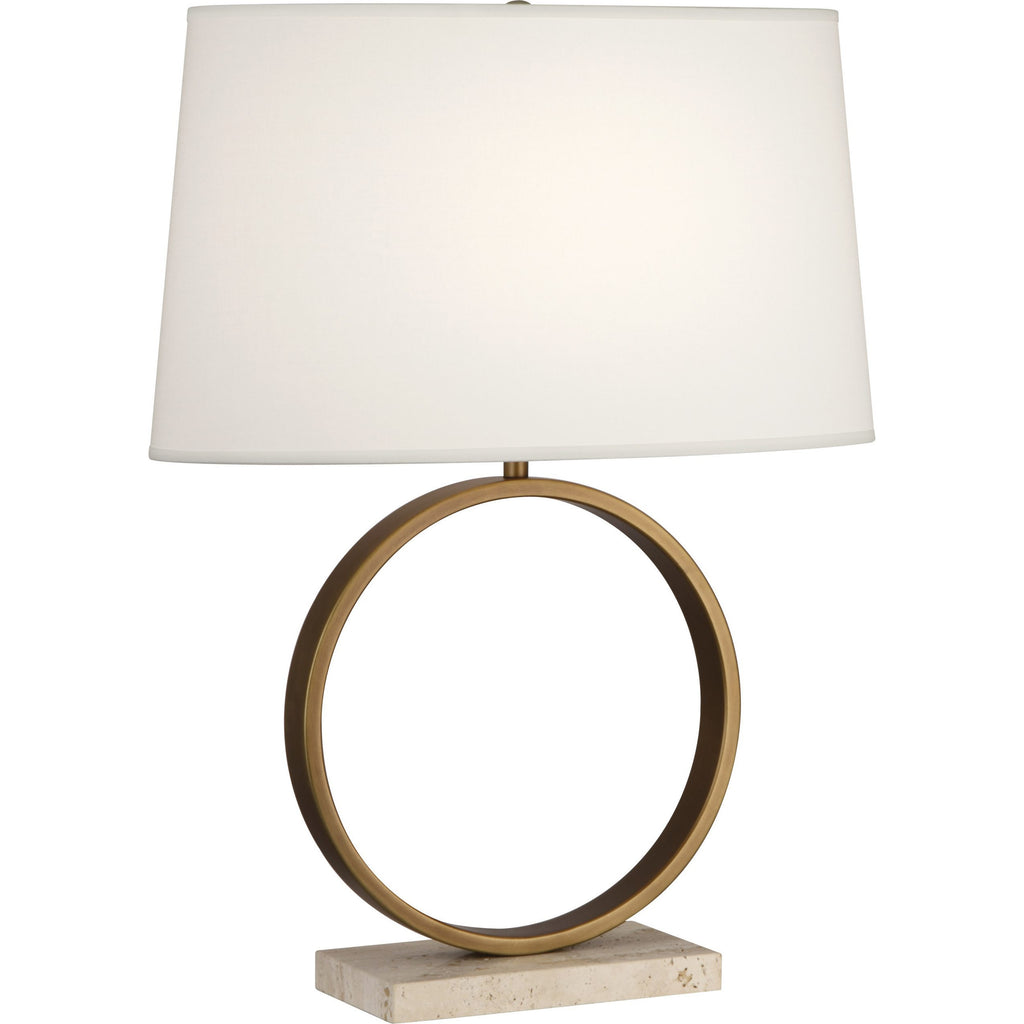 Logan Table Lamp Ivory Shade