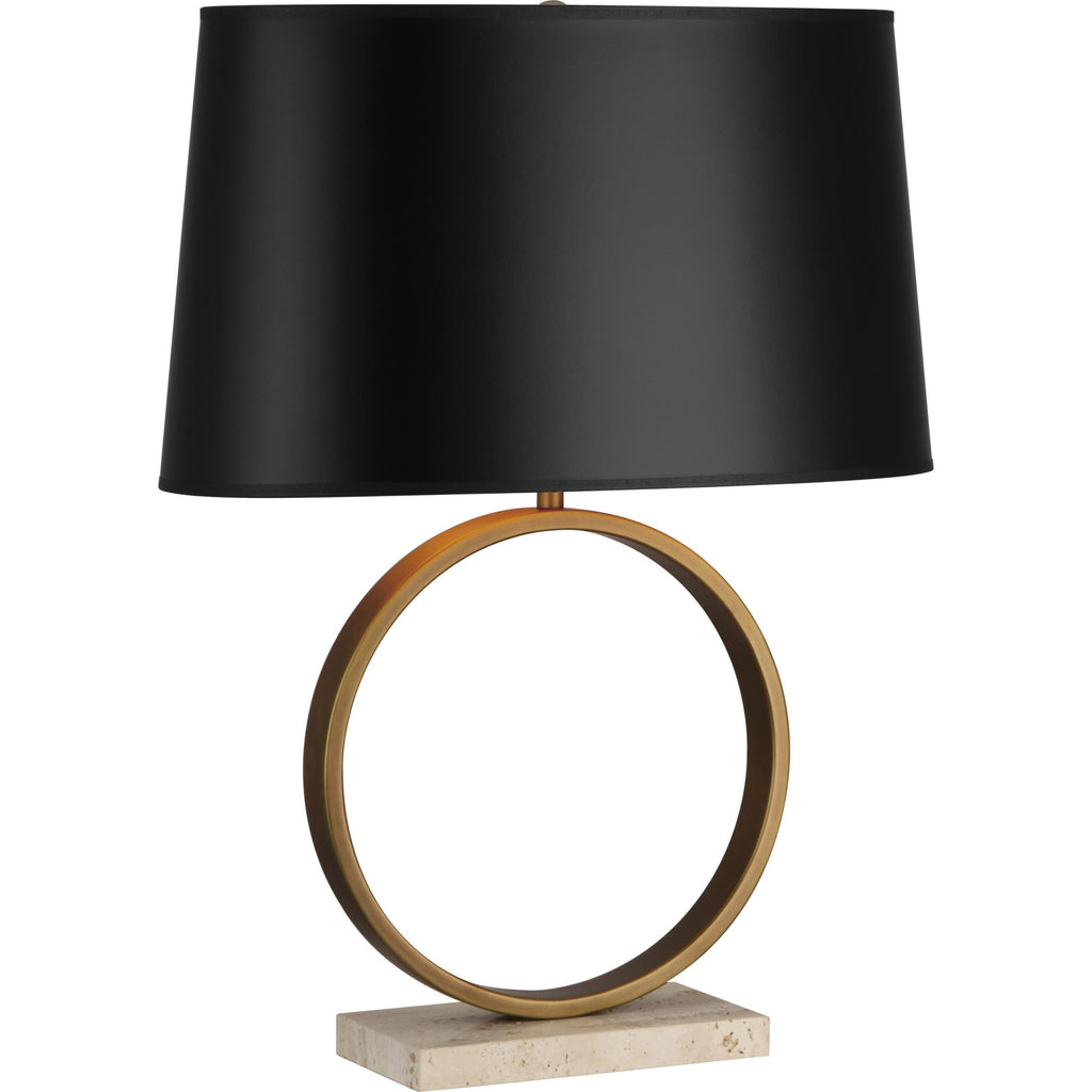 Robert Abbey Logan Table Lamp Black Shade